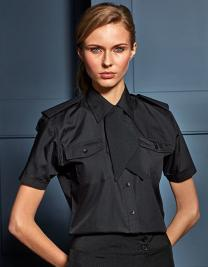 Ladies` Pilot Shirt Short Sleeve