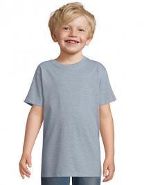 Kids` Round Collar T-Shirt Regent Fit